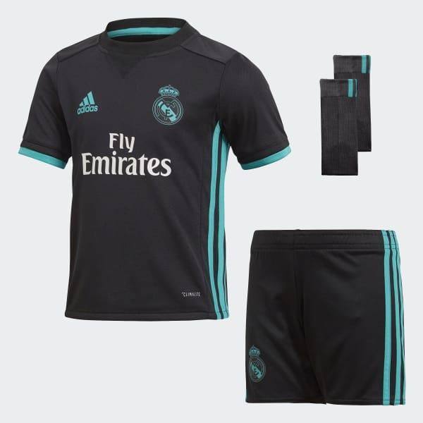 Mini Kit Away Real Madrid Nero B31096