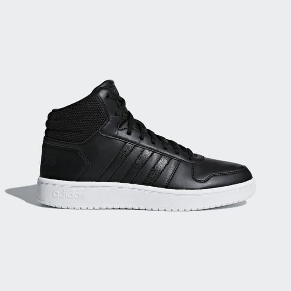 Hoops 2.0 Mid Shoes Black B42100