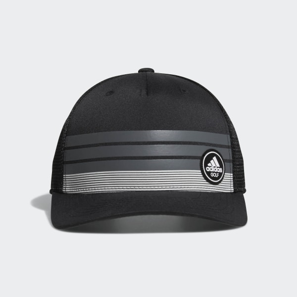 3-Stripes Trucker Cap Black BC7259