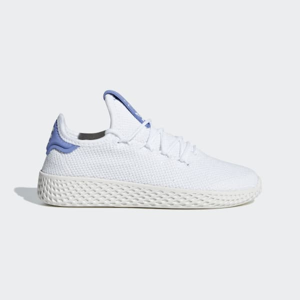 Chaussure Pharrell Williams Tennis Hu blanc BD8068