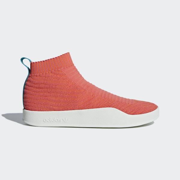 Scarpe Adilette Primeknit Sock Arancione CM8227