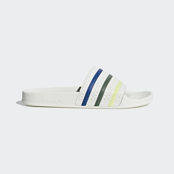 Adilette Pride Slides White DB3436