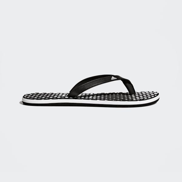 Eezay Dots Flip-Flops White B23738