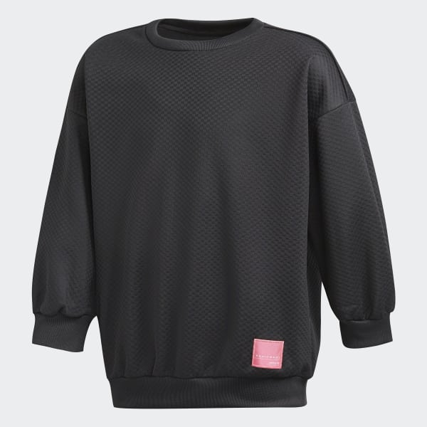 Sweat-shirt EQT Crew noir BQ4024
