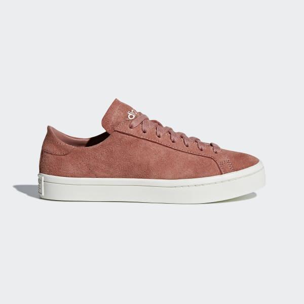 Chaussure Court Vantage rose CQ2616