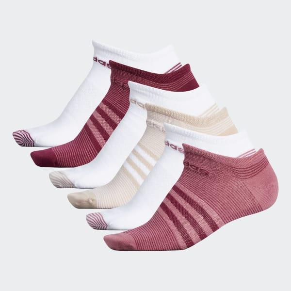 Superlite Mini Stripe No-Show Socks 6 Pairs Multicolor CK0651