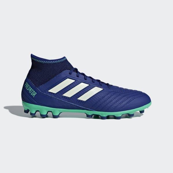 Scarpe da calcio Predator 18.3 Artificial Grass Blu CP9308