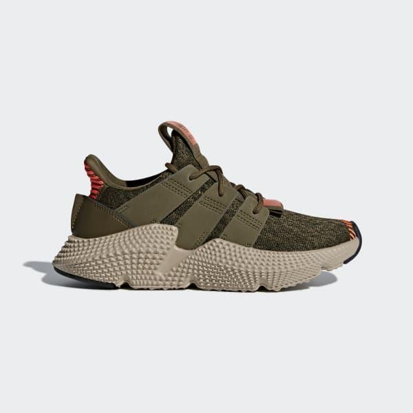 Prophere Shoes Green AQ0509