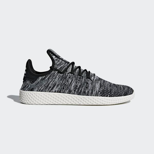 Pharrell Williams Tennis Hu Primeknit Shoes Black CQ2630