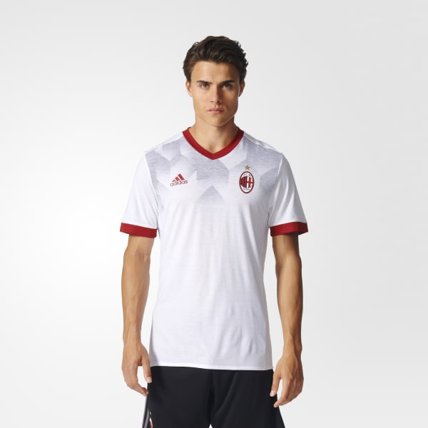 Maillot d'échauffement Milan AC Domicile blanc BP9144