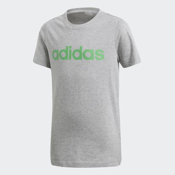 Camiseta Linear Essentials Gris DJ1765