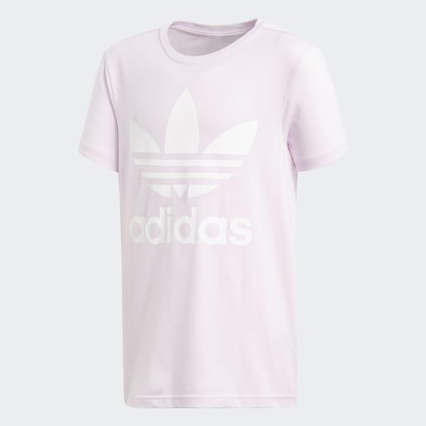 Trefoil Tee Pink CF8549