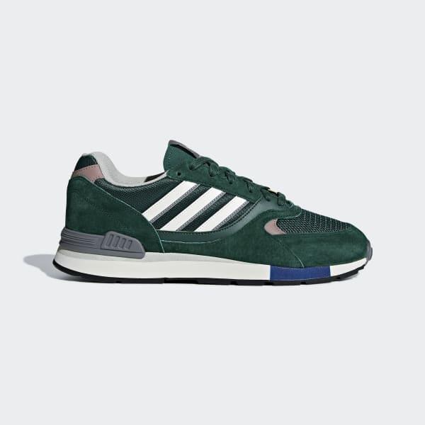 Quesence Shoes Green B37851