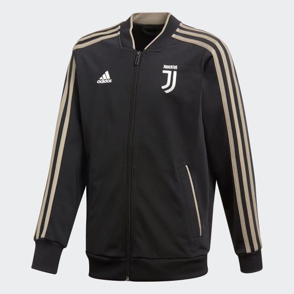 Chaqueta Juventus Polyester Negro CW8752
