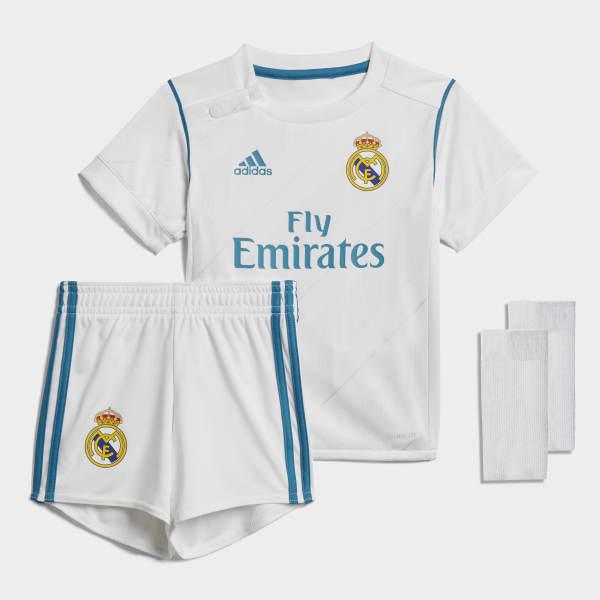 Mini Kit Home Real Madrid Bianco B31098