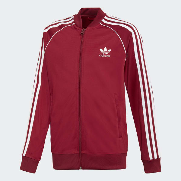 SST Track Jacket Red DH2652