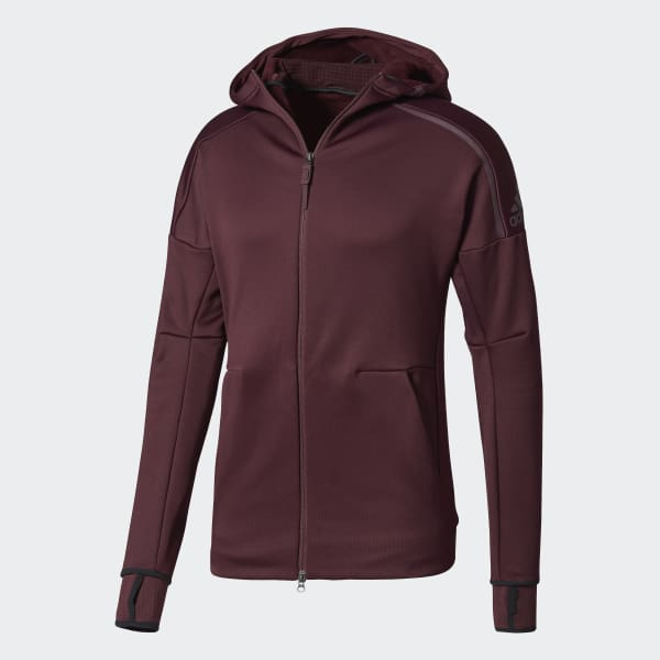 adidas Z.N.E. Climaheat Hoodie rot BS4879