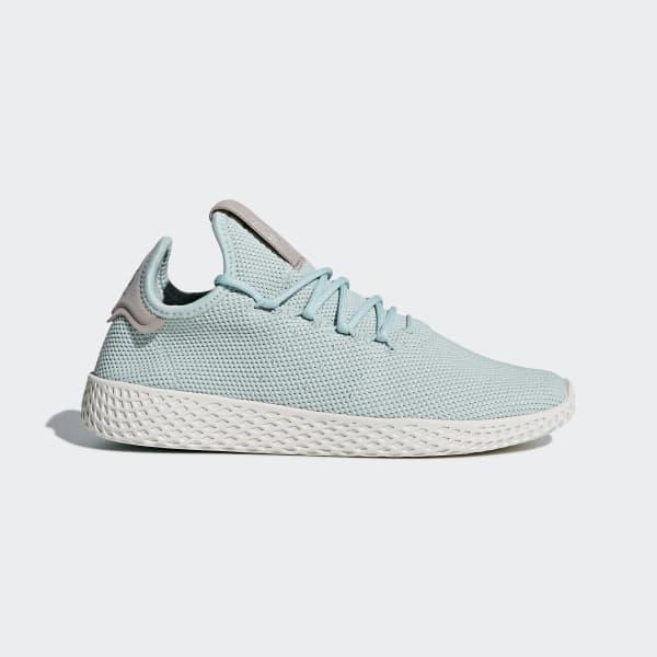 Pharrell Williams Tennis Hu Shoes Green DB2557