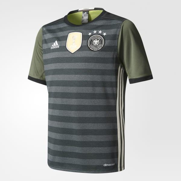 UEFA EURO 2016 DFB Auswärtstrikot grau AA0114