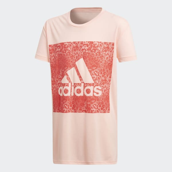 Essentials Logo in the Box Tee Pink CF7252