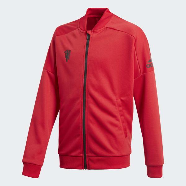 Manchester United Track Jacket Red CV6186