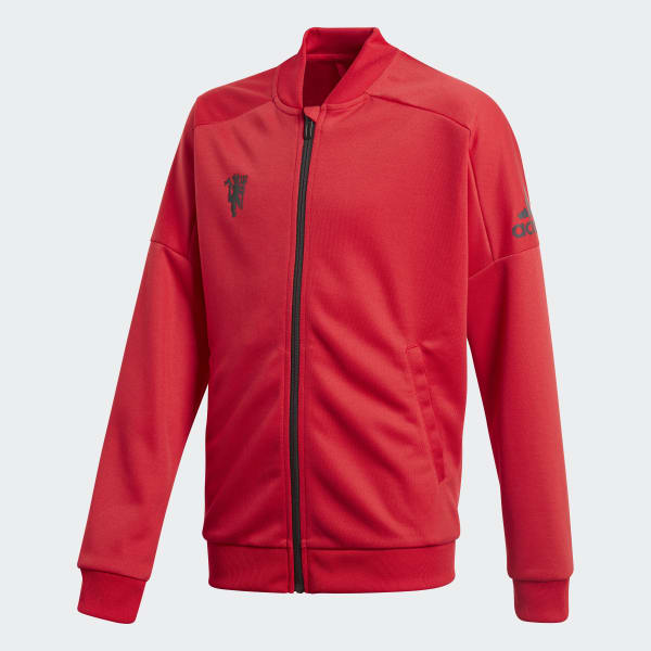 Manchester United Trainingsjacke rot CV6186