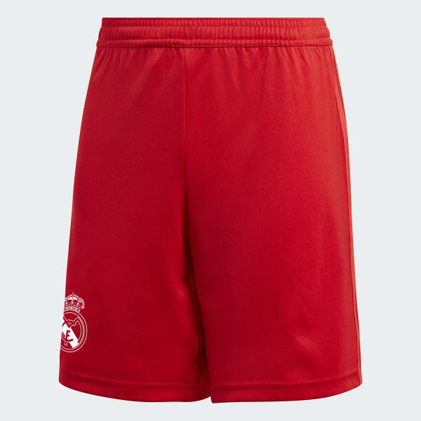 Real Madrid Third Shorts Youth Red DQ0871