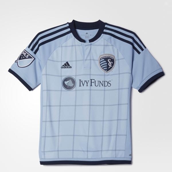 Sporting Kansas City Replica Team Jersey Blue S88085