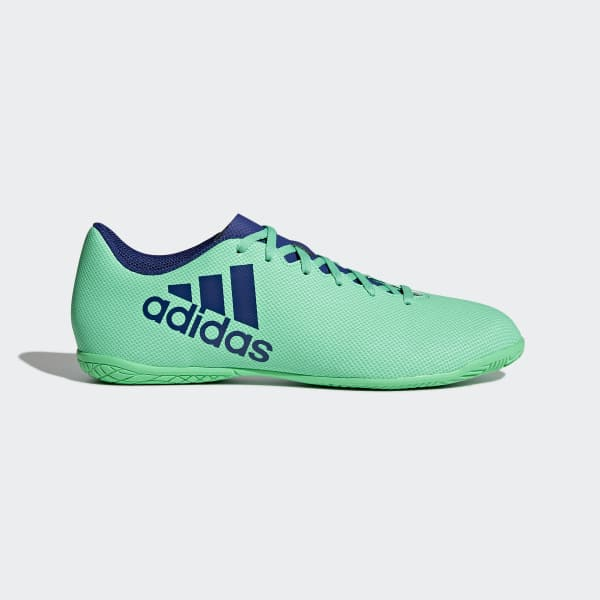 Chuteira X 17.4 Futsal Verde CP9151