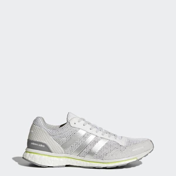 adizero Adios 3 Shoes White BY2782