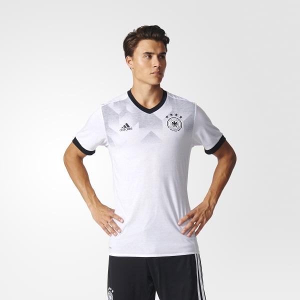 DFB Home Pre-Match Shirt weiß BP9161