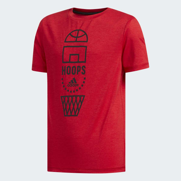 Vertical Collage Tee Red CK5250