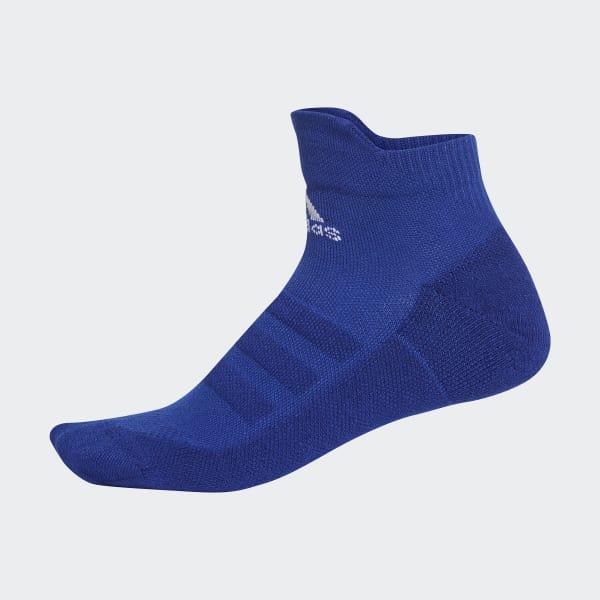Alphaskin Lichtgewicht Gevoerde Enkelsokken blauw DM6083