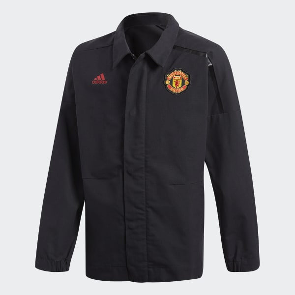 Veste adidas Z.N.E. Manchester United noir CE6508