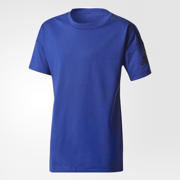 adidas Z.N.E. T-Shirt blau CF2561