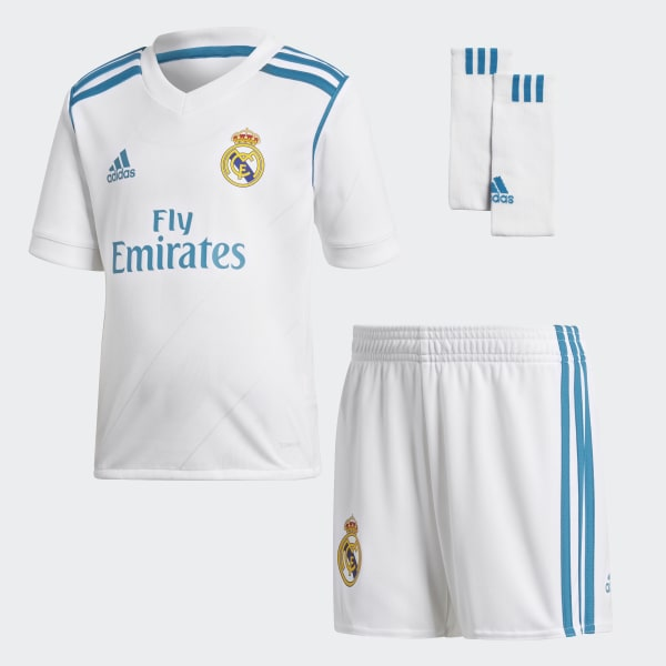 Mini Kit Home Real Madrid Bianco B31118