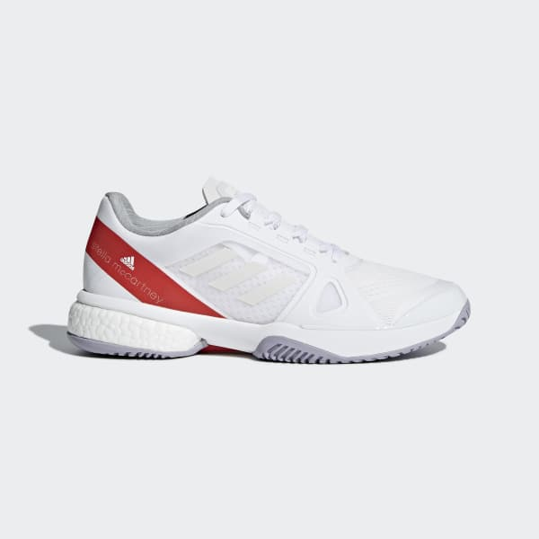 adidas by Stella McCartney Barricade Boost Shoes White CP9328