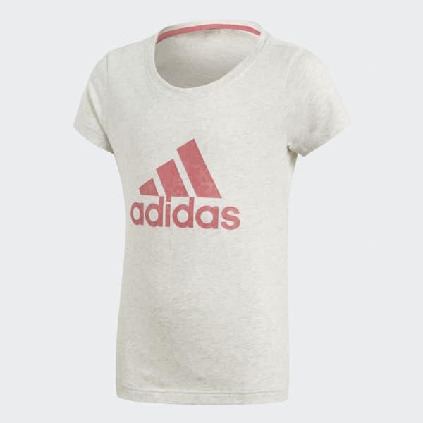 T-shirt Essentials Performance Logo Bianco CF7253