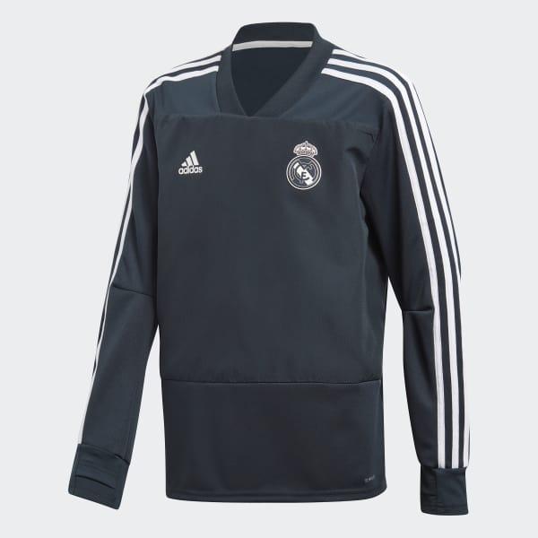 Real Madrid Training Longsleeve blauw CW8654