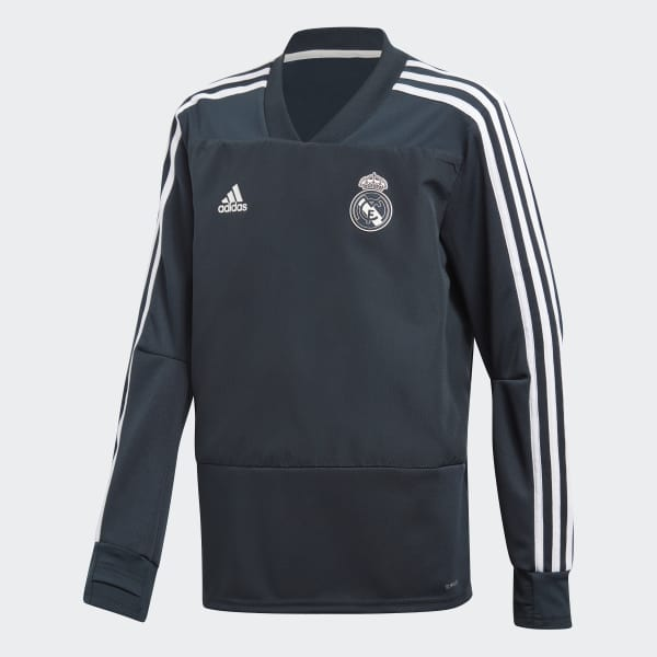 Real Madrid Training Top Blue CW8654