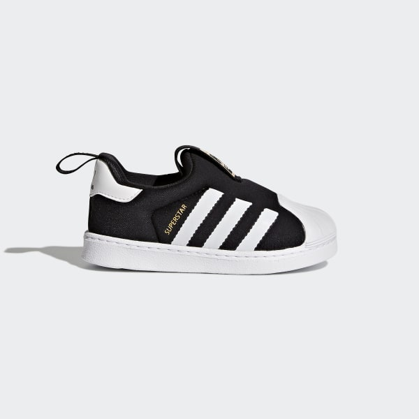 Superstar 360 Schoenen zwart S82711