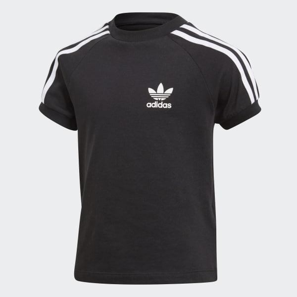 California T-shirt zwart CY2295