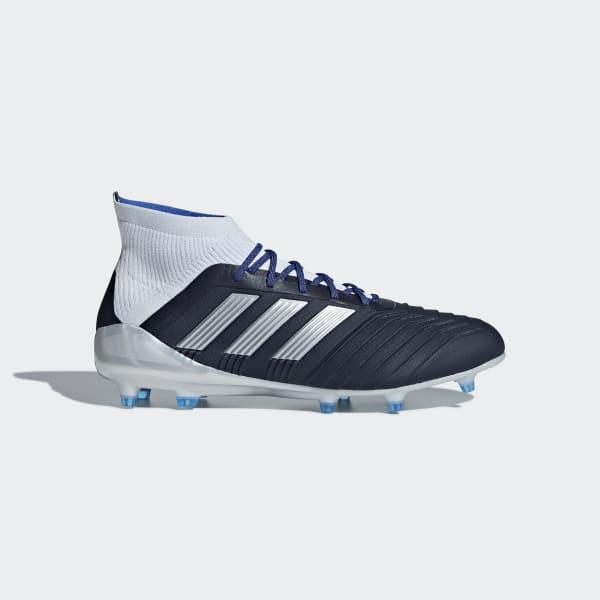 Bota de fútbol Predator 18.1 césped natural seco Azul BD7298