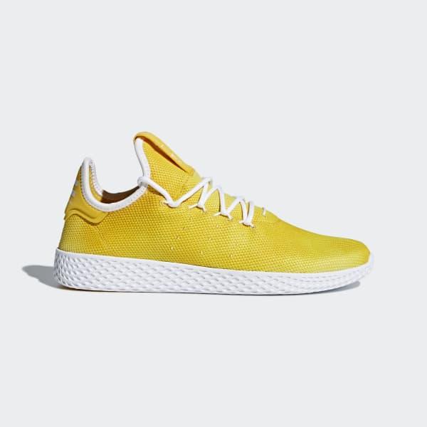 Pharrell Williams Tennis Hu Schoenen geel DA9617