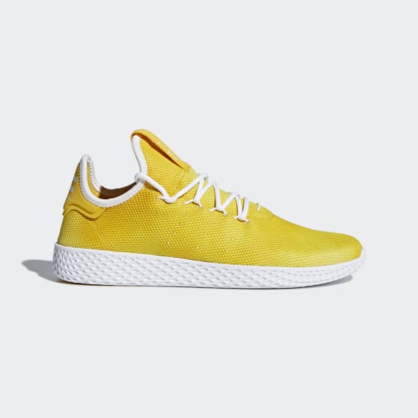 Zapatilla Pharrell Williams Tennis Hu Amarillo DA9617