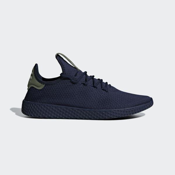 Pharrell Williams Tennis HU Schuh blau B41807