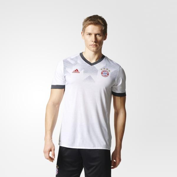 FC Bayern Munich Home Pre-Game Jersey White BP9185