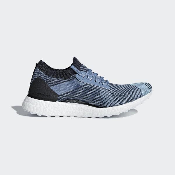 UltraBOOST X Parley Schuh blau AQ0421