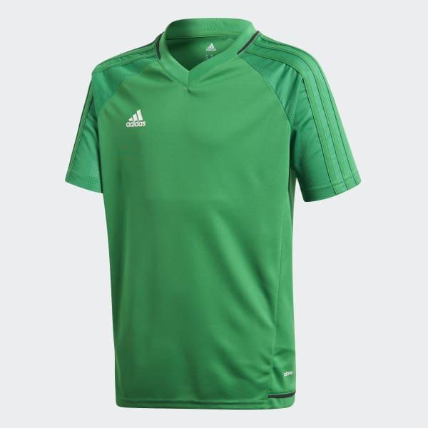 Tiro17 Training Voetbalshirt groen BP8566