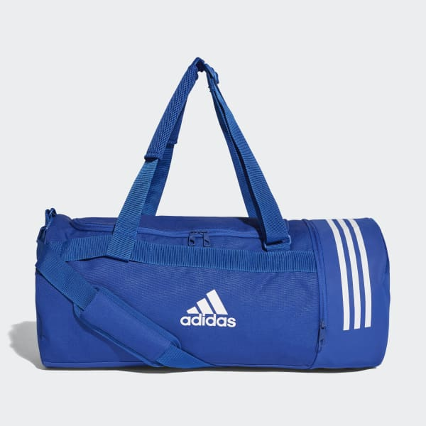 Convertible 3-Streifen Duffelbag M blau DM7787